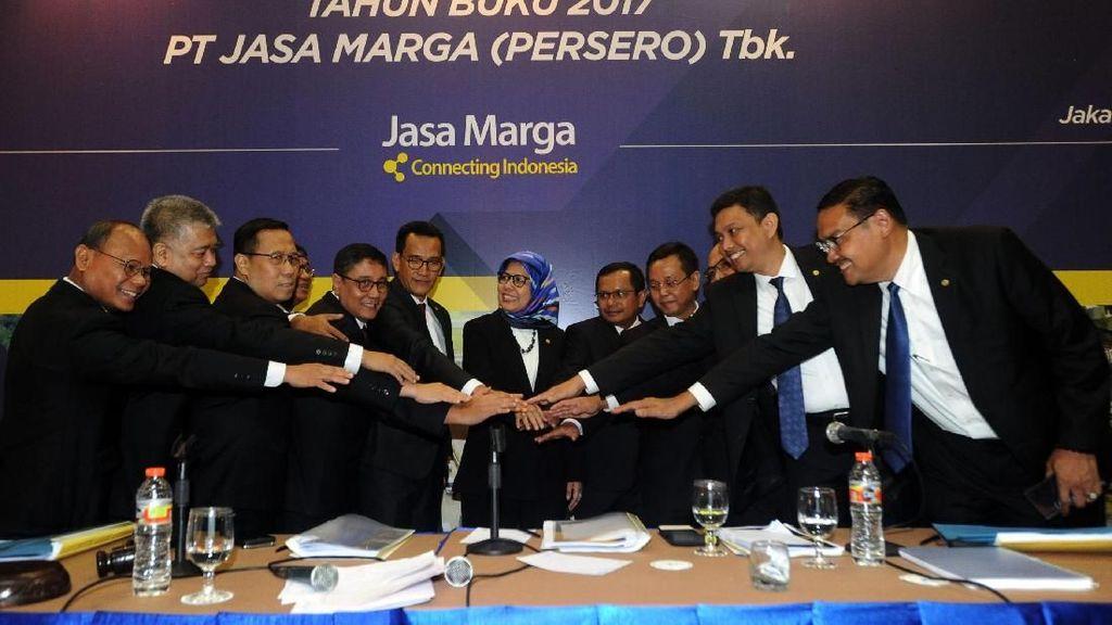 Jasa Marga Bagi-bagi Dividen Rp 400 M