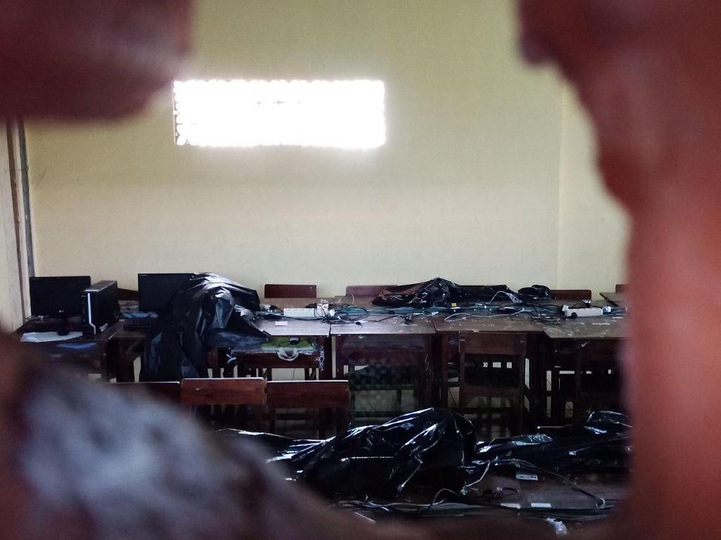 Polisi Tembak Mati 2 Pencuri Laptop untuk UNBK di Tangerang