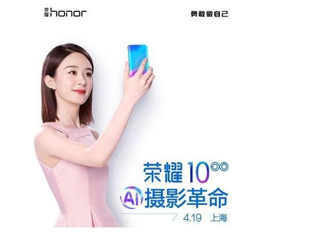Desain Belakang Honor 10 Mirip Galaxy S