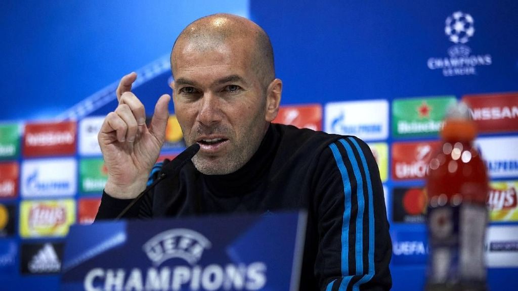 Zidane Berang Madrid Disebut Merampok Kemenangan Juve