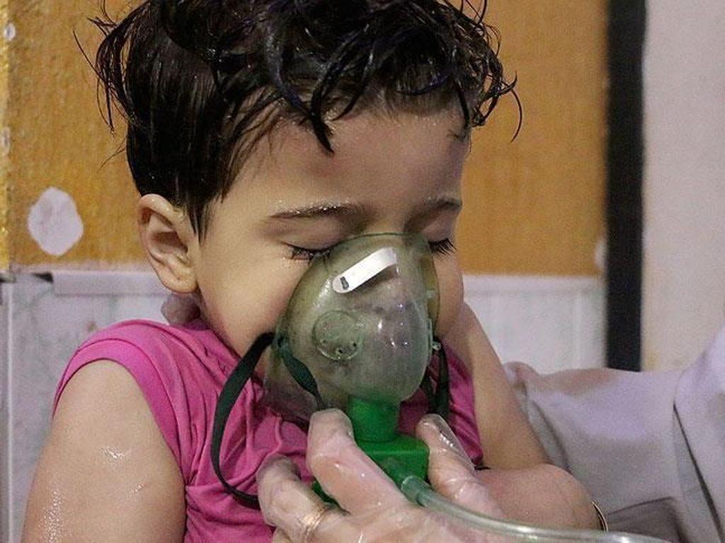 Liga Arab Serukan Penyelidikan Atas Serangan Kimia di Suriah