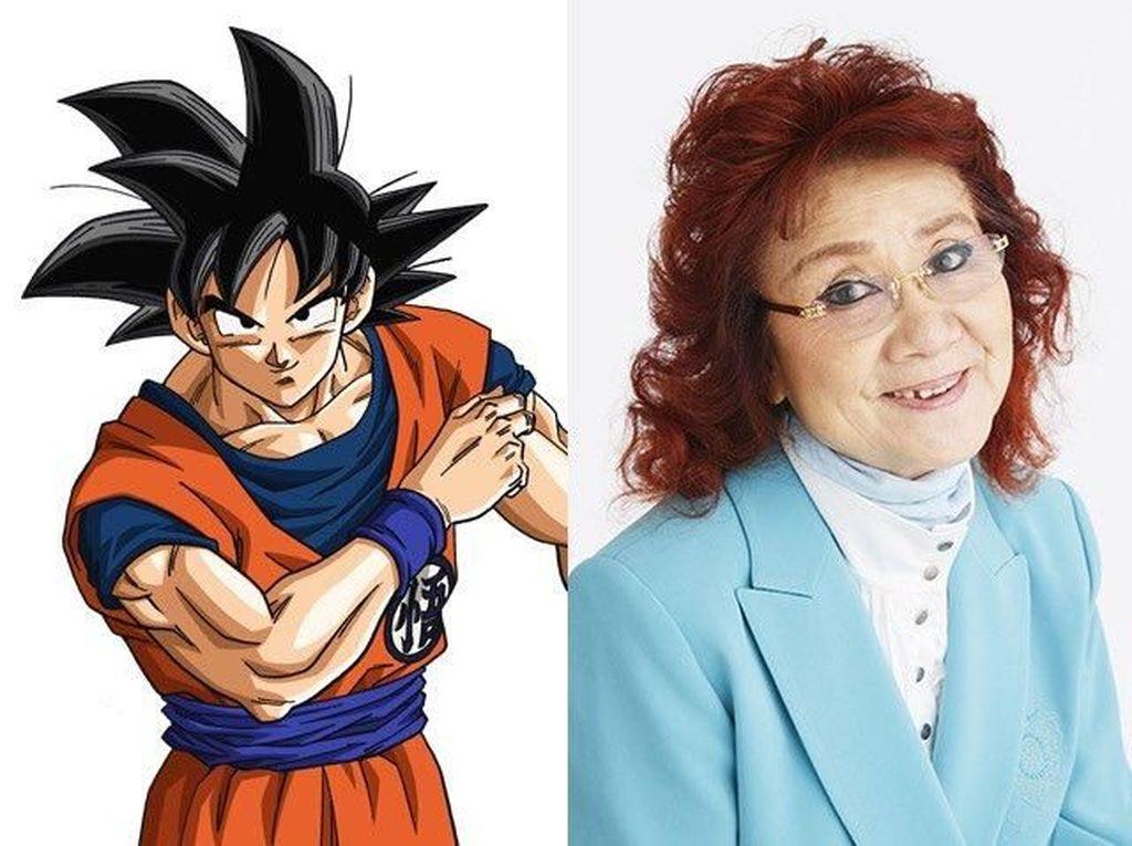 Mengenal Masako Nozama, Sang Pengisi Suara Son Goku