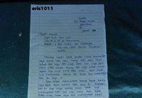Surat Amin untuk Jokowi.