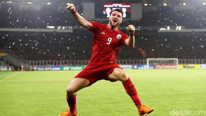 Marko Simic masih bisa perkuat Persija Jakarta. (Foto: Grandyos Zafna/detikcom)