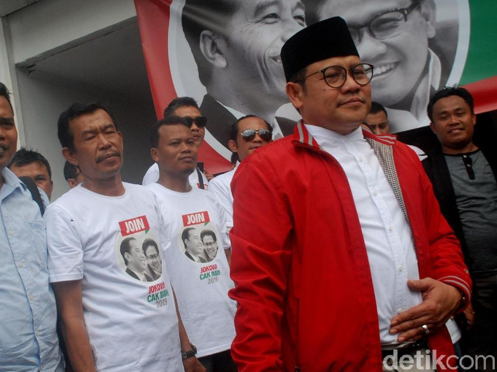 Disindir PPP soal Cawapres Jokowi, Ini Respons Cak Imin