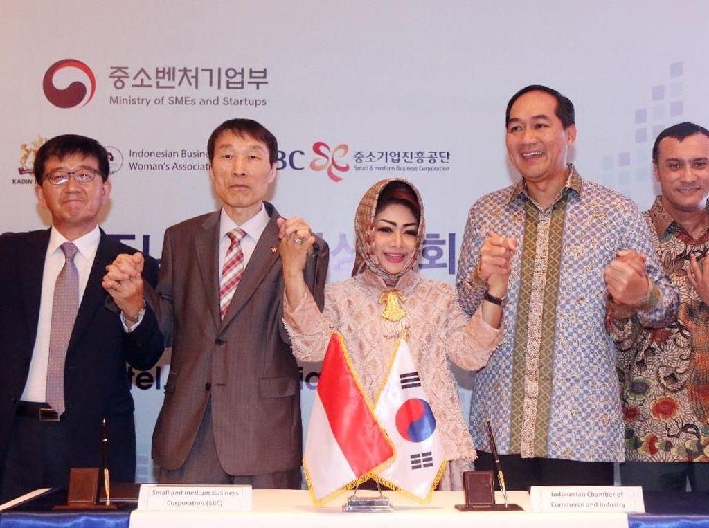Perluas Jaringan, IWAPI Gandeng SBC Korea