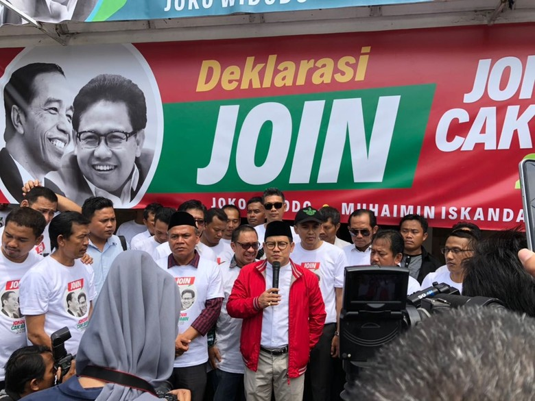Cak Imin Bangun Posko 'JOIN Jokowi-Cak Imin' untuk Pilpres 2019