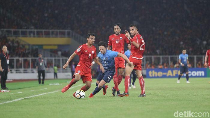 Persija Jakarta menang 4-0 atas Johor Darul Tazim di lanjutan fase grup Piala AFC 2018. (Foto: Grandyos Zafna/detikSport)