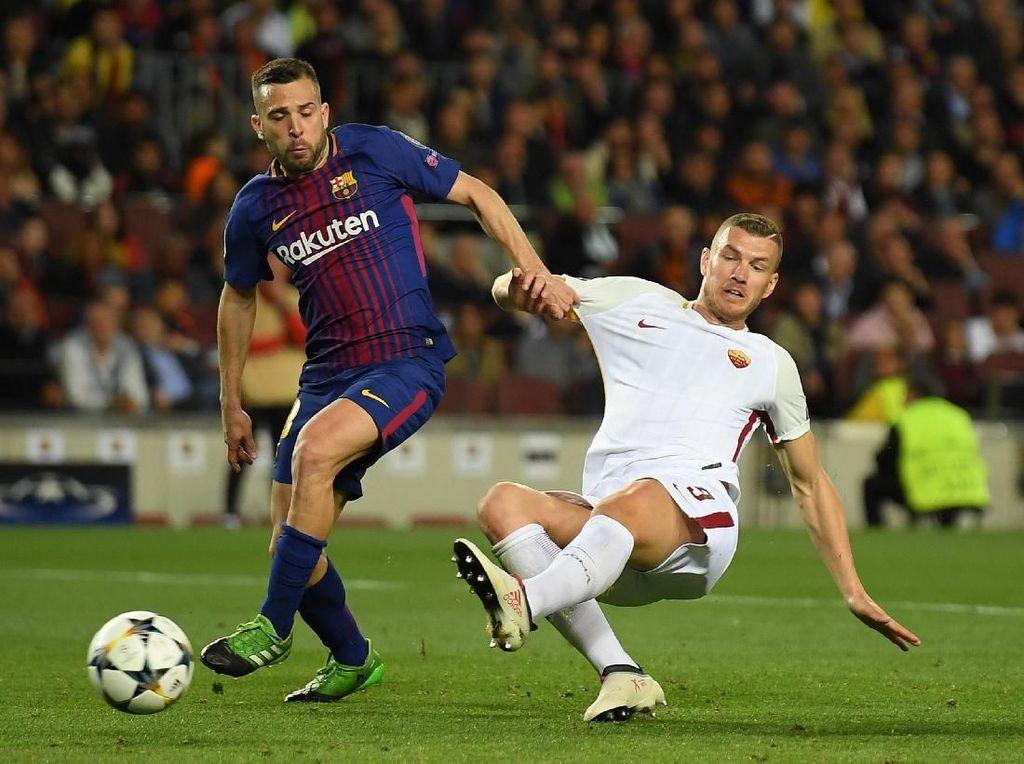 Valverde: Seperti Messi, Dzeko Bisa Menentukan Pertandingan