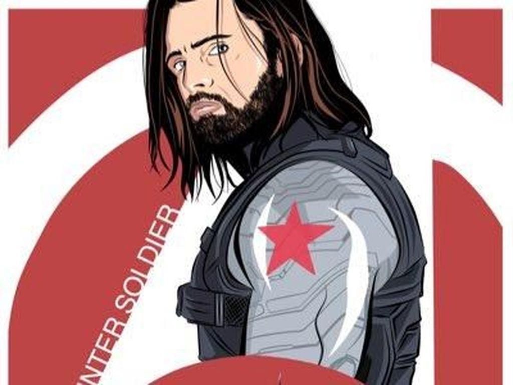 Bucky Pegang Perisai Jadi Pertanda Captain America Mati