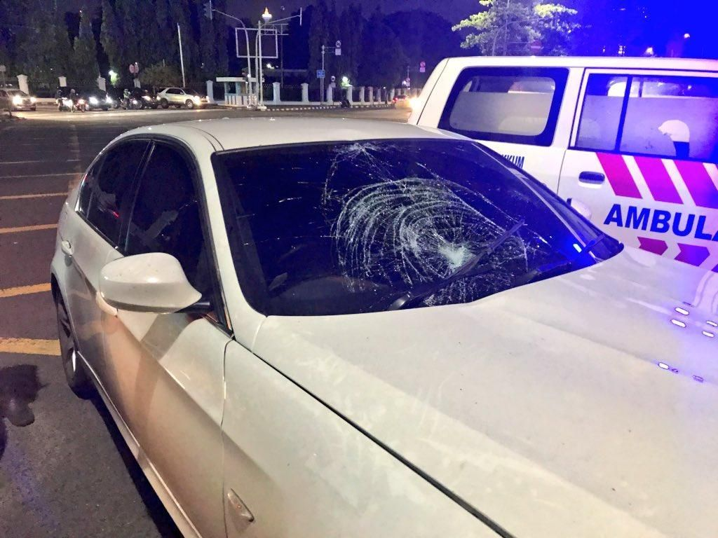 Foto: Penampakan BMW yang Kecelakaan di Harmoni