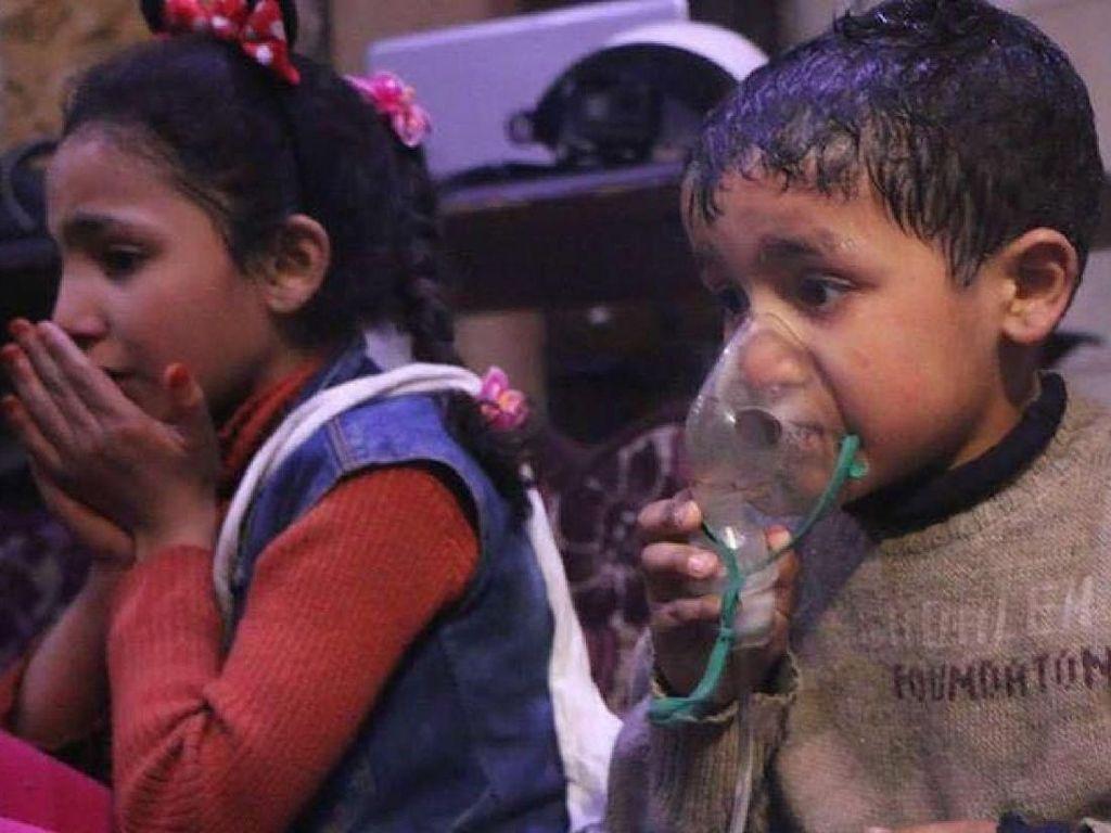 Rusia Memveto Resolusi DK PBB Soal Serangan Kimia di Suriah
