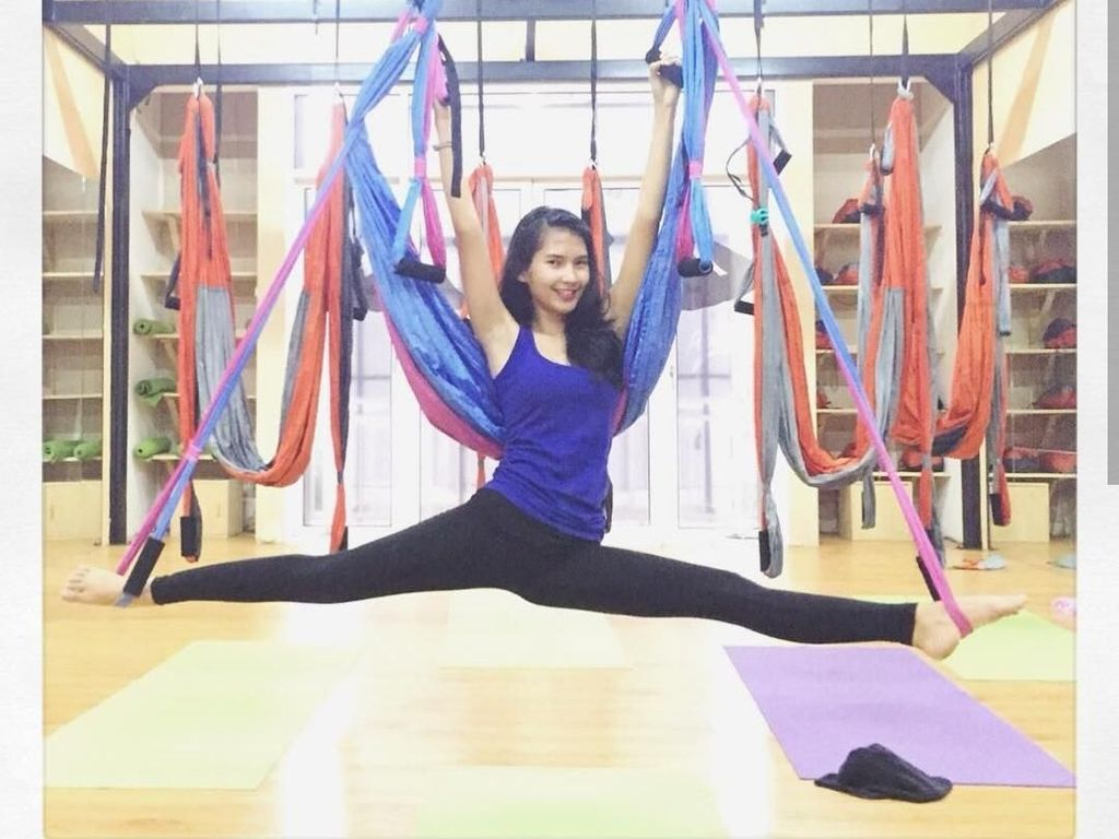 Bugarnya Presenter Cantik Soraya Rasyid Saat Sedang Olahraga