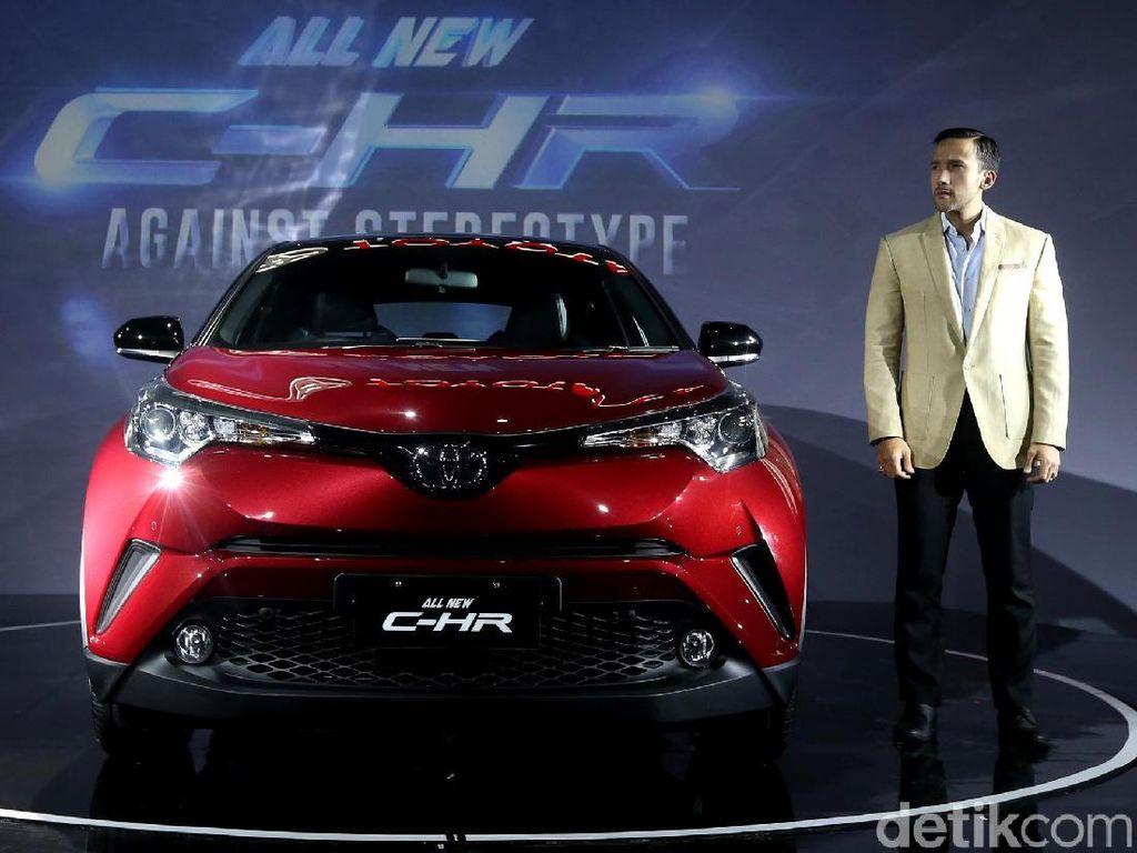 Toyota C-HR, Si Sexy Gabungan Coupe dan SUV