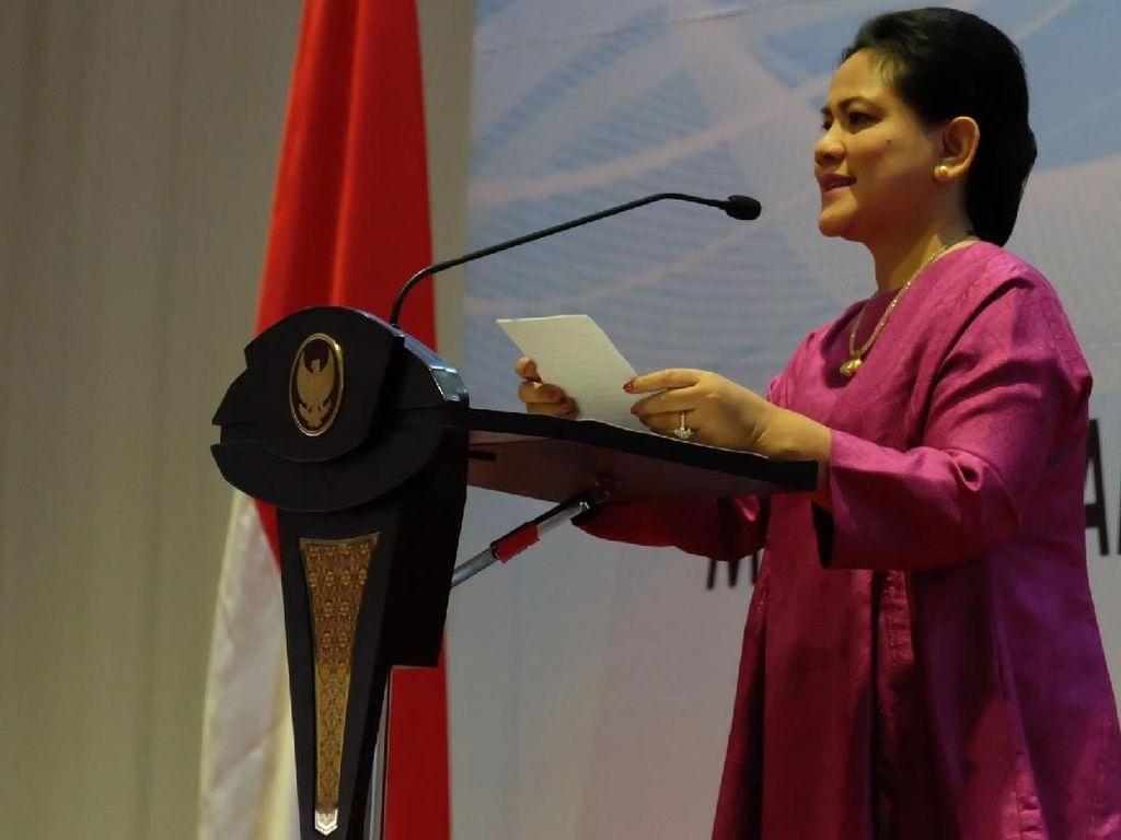 Iriana Jokowi ke Ibu-ibu PKK: Tidak Boleh Berpolitik