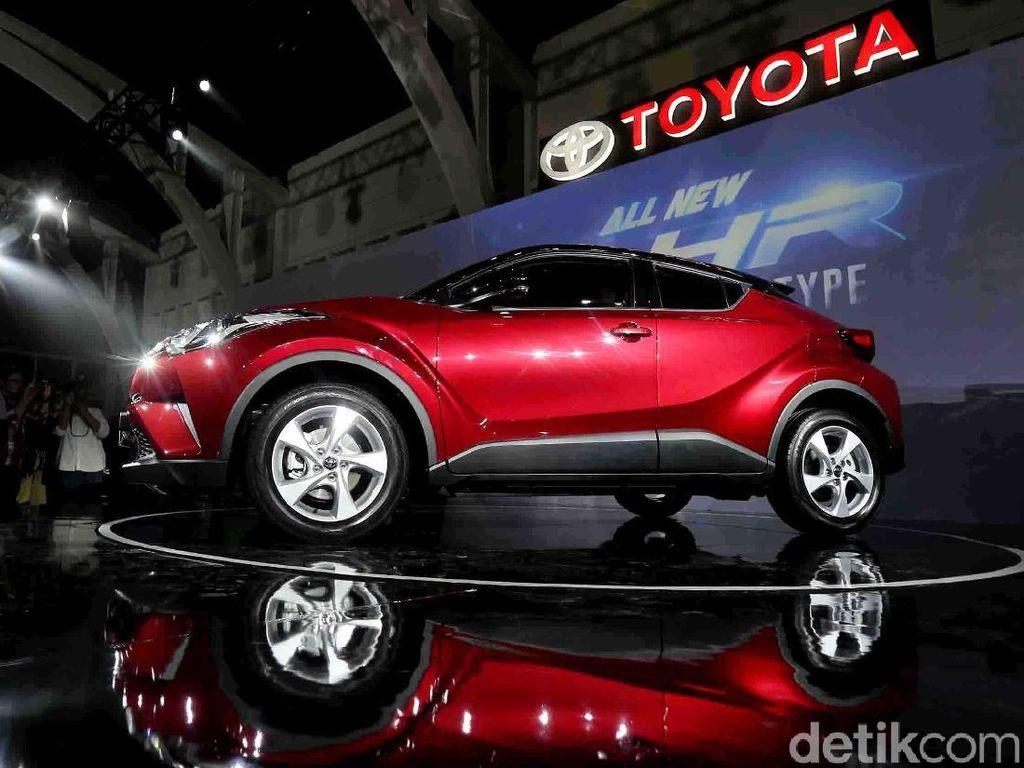 Toyota Belum Berencana Bikin C-HR Lebih Murah