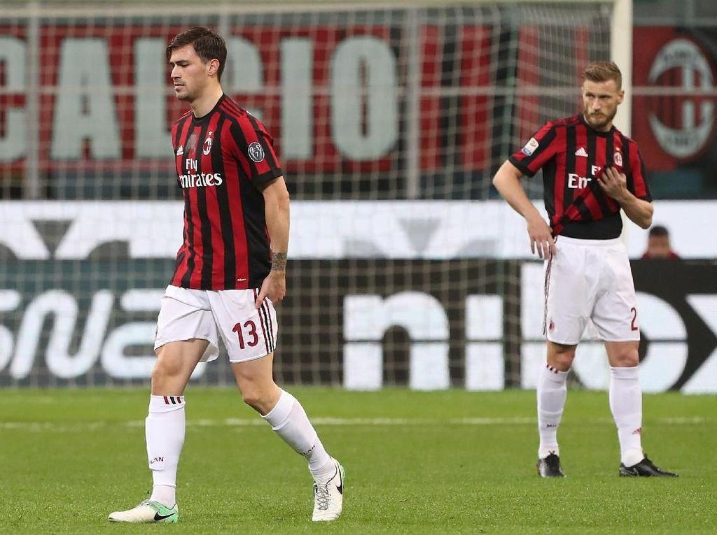 Milan Kehilangan Romagnoli Selama Dua Pekan