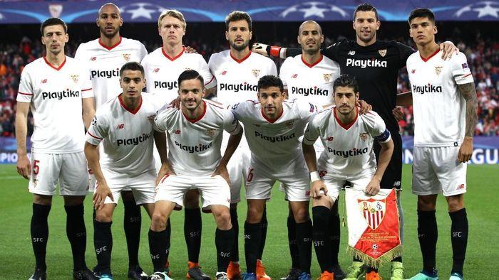 Sevilla berupaya menyingkirkan Bayern Munich di leg kedua perempatfinal Liga Champions (Foto: Adam Pretty/Getty Images)