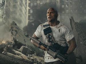 Deretan Aksi Dwayne Johnson yang Gila-gilaan di Film