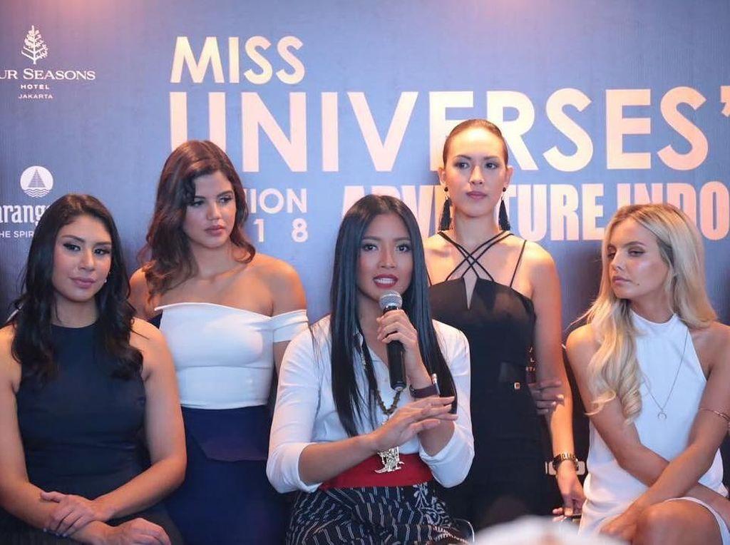 Intip Grup Chat Alumni Miss Universe 2015, Ngomongin Apa Yah?