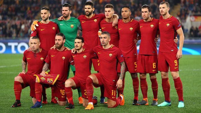 AS Roma mungkin jadi satu-satunya wakil Italia tersisa di semifinal Liga Champions (Catherine Ivill/Getty Images)