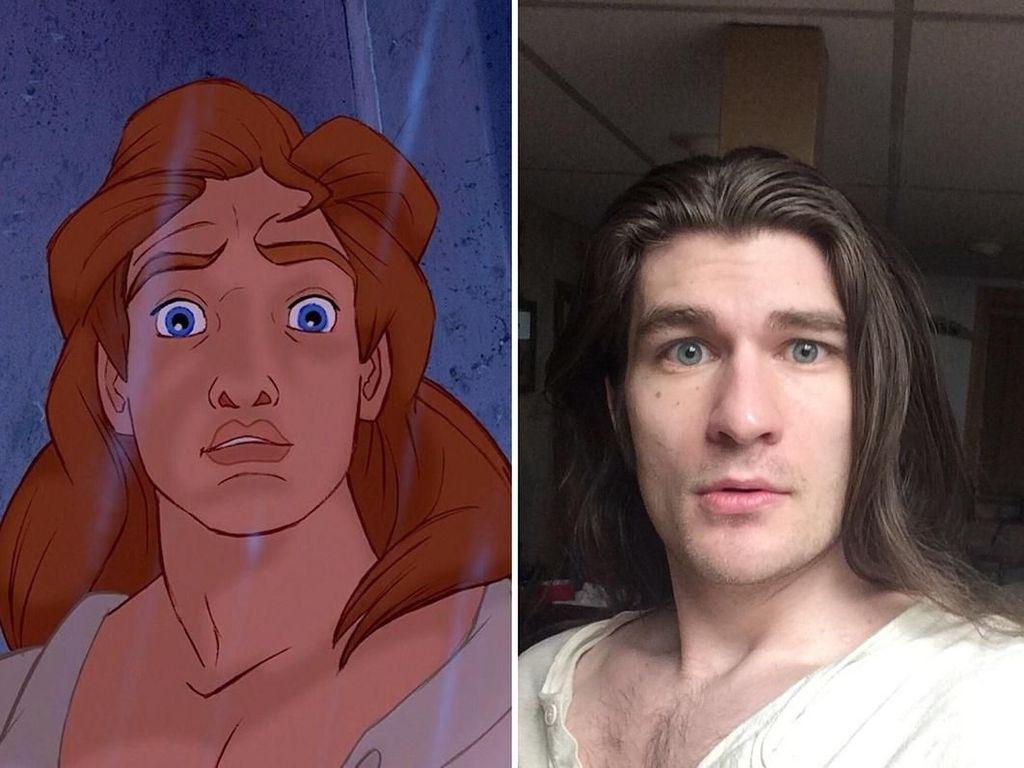 Transformasi Jeffrey dari Gemuk Hingga Jadi Pangeran Disney