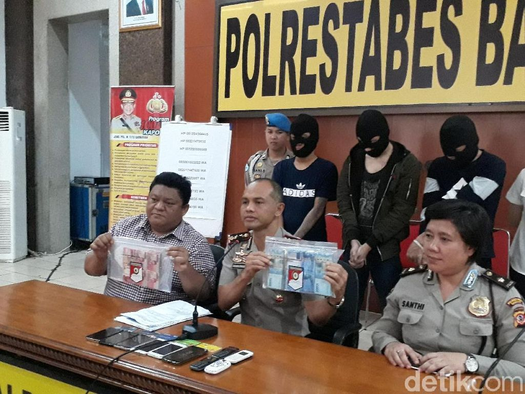 Polisi Telusuri Aliran Dana Hasil Napi Peras Wanita Bugil