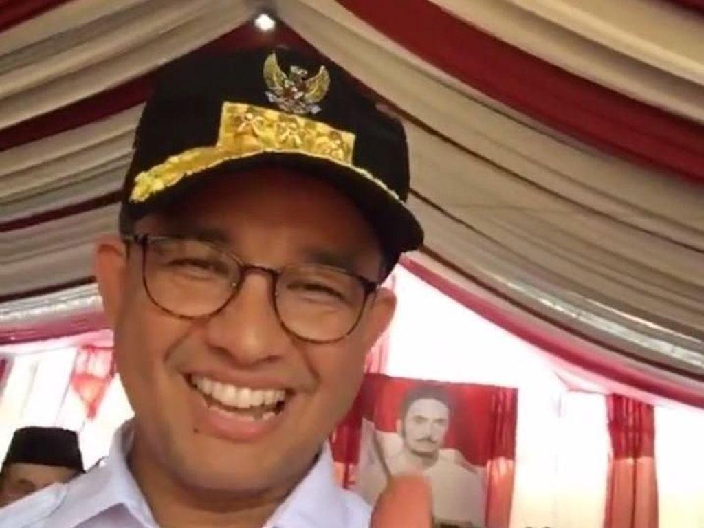 Hadiri Rakornas Gerindra di Jam Kerja, Anies: Saya sebagai Gubernur