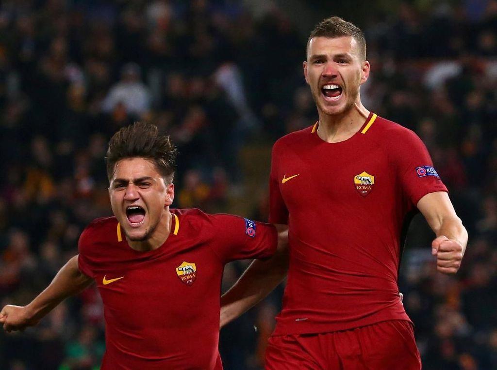 Ada Dzeko Setelah Under: Saat Gol Tandang Kembali Loloskan Roma