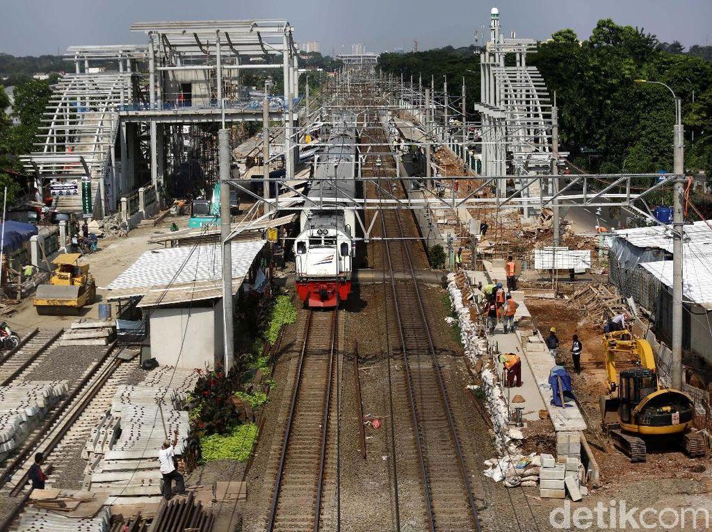 Pembangunan Stasiun Klender Baru Terus Dikebut
