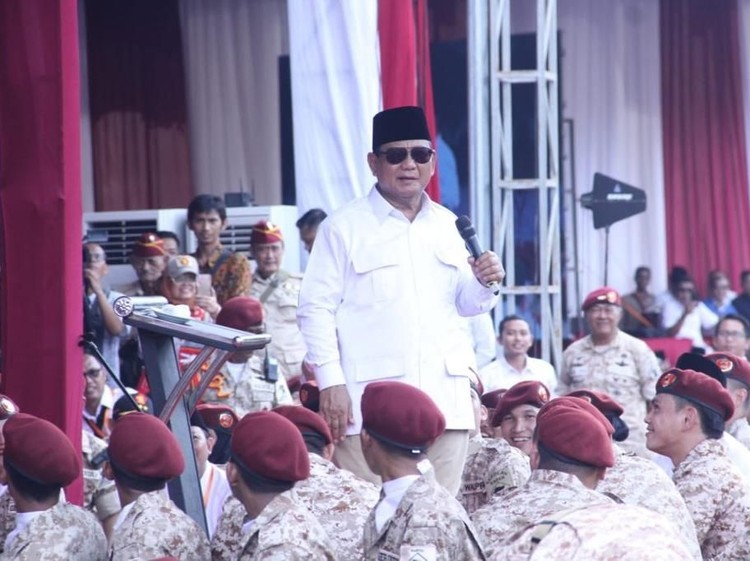 Prabowo: Saya Maju Pilpres Seandainya Gerindra Beri Mandat