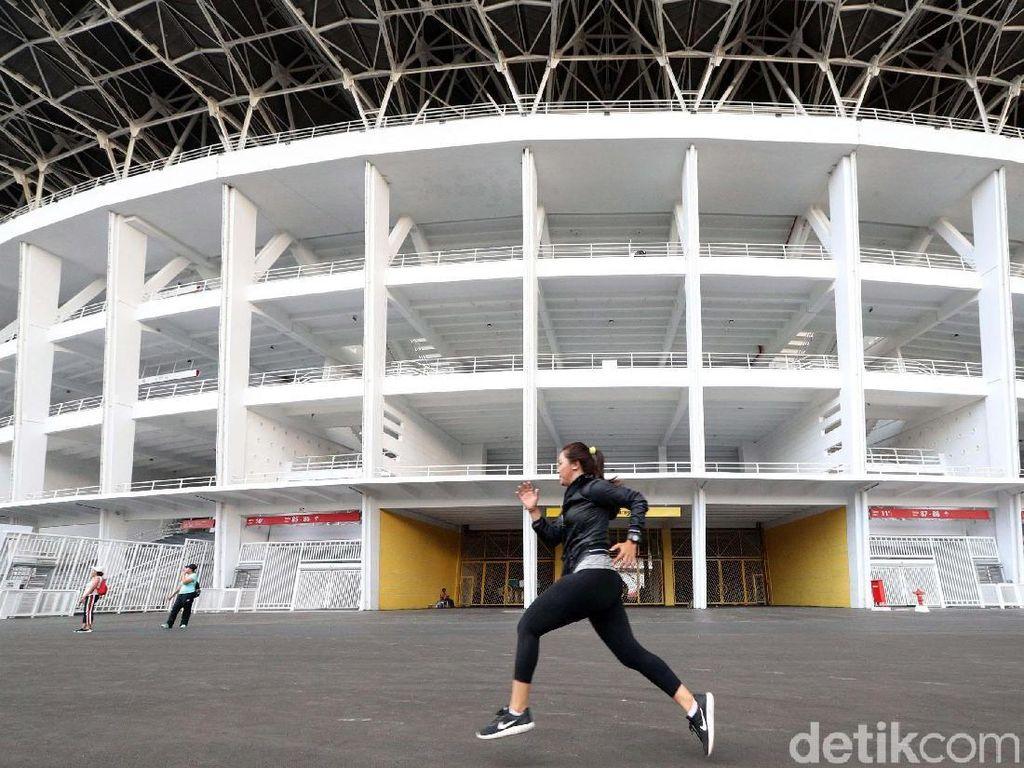 Ada Jalan Cepat Asian Games 2018, Lalin Sekitar GBK Dialihkan