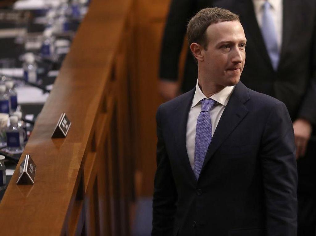 Pakai Jas Temui Parlemen AS, Simbol Penyesalan Mark Zuckerberg?