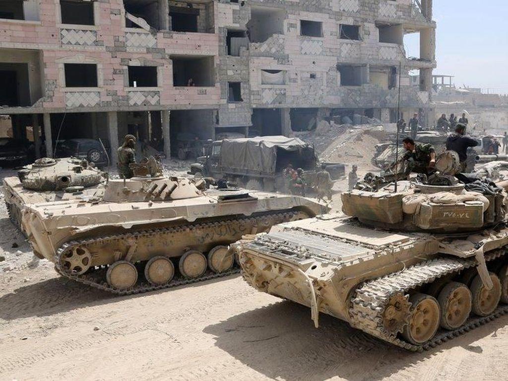 Rusia Desak AS Hentikan Rencana Aksi Militer ke Suriah