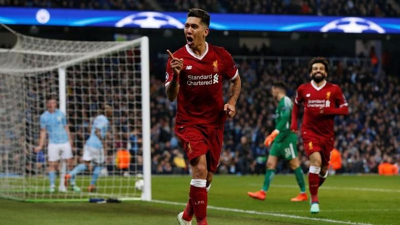 Kalahkan City 2-1, Liverpool Melangkah Mantap ke Semifinal
