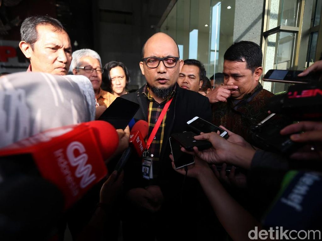Anggota Komisi III DPR Masih Yakin Polri Bisa Ungkap Kasus Novel