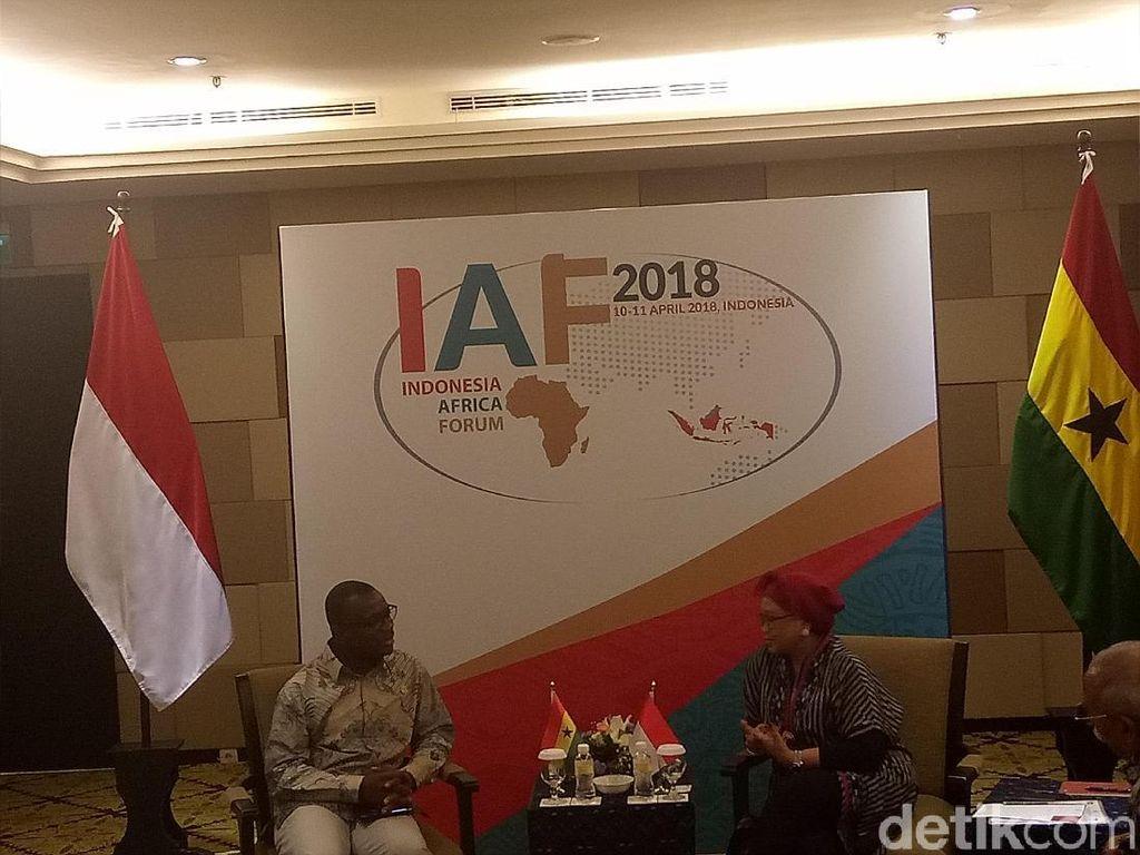 Indonesia Ajak Ghana Lawan Kampanye Hitam Kelapa Sawit