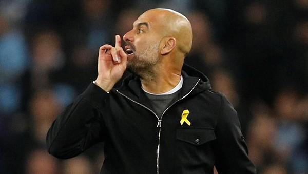 Kekesalan Guardiola pada Wasit