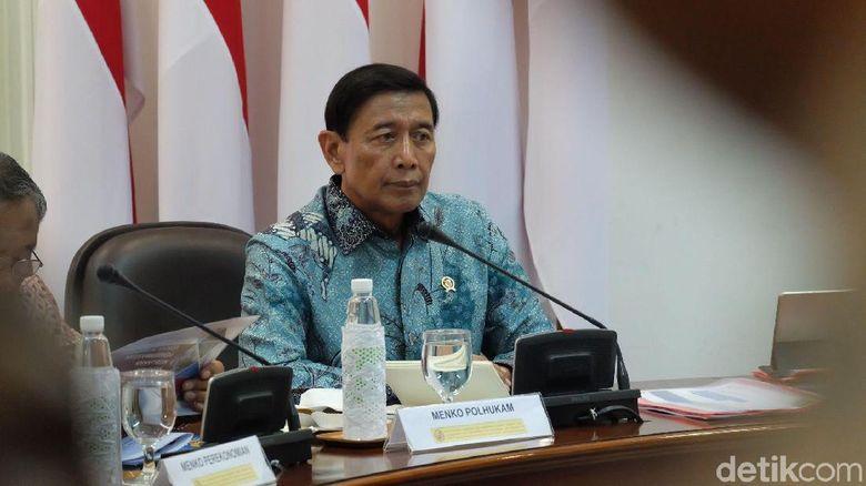 Wiranto Ungkap 2 Pasal Krusial Revisi UU Terorisme