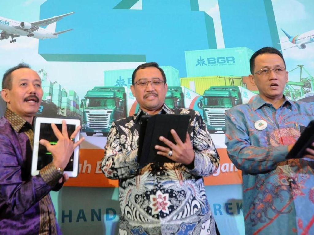 Target Pertumbuhan Logistik BGR