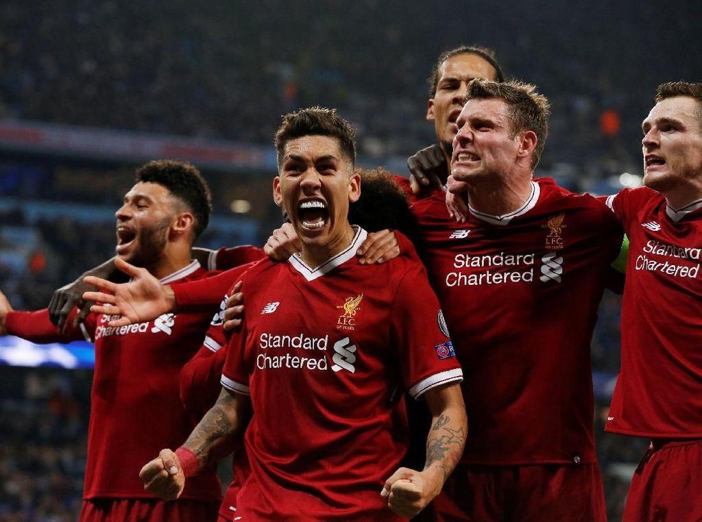 Liverpool Sudah Selayaknya Lolos ke Semifinal