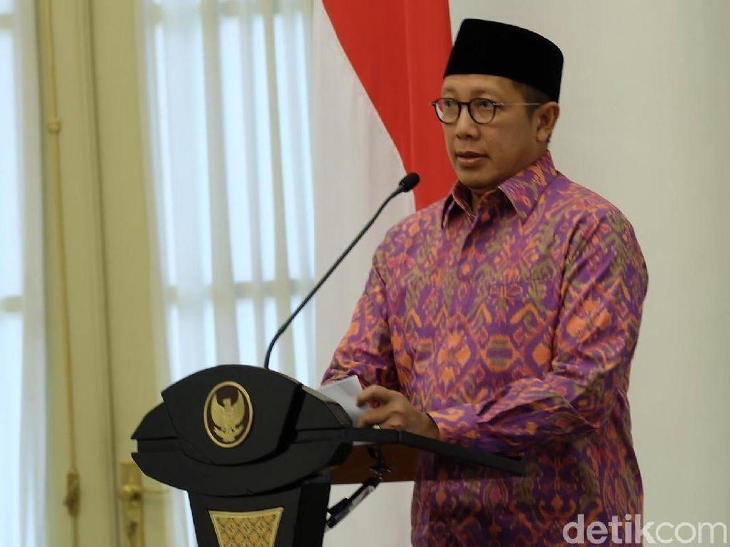 Menag Tak Wajibkan Masjid Pakai Rekomendasi 200 Penceramah