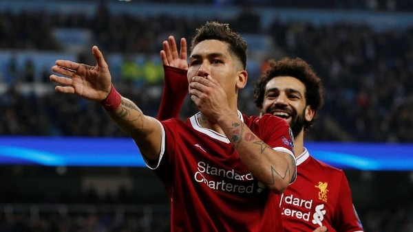Liverpool di Liga Champions: Salah Lagi, Firmino Lagi