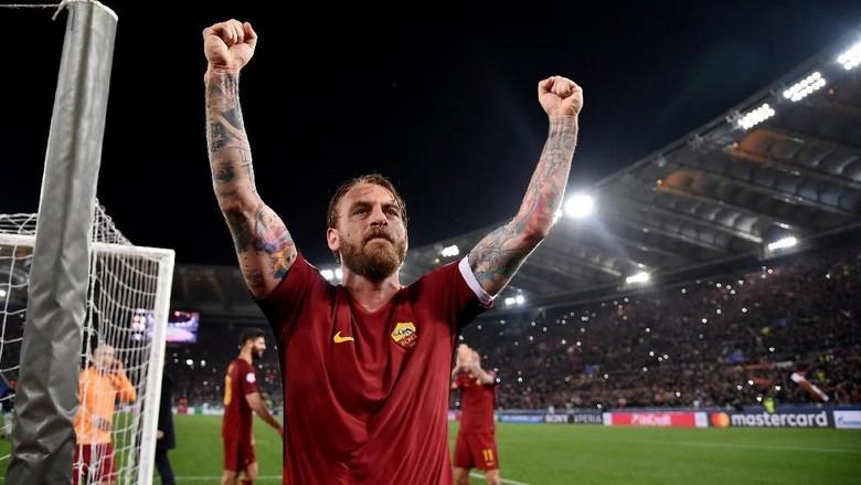 Roma Jumpa Liverpool, De Rossi Optimistis