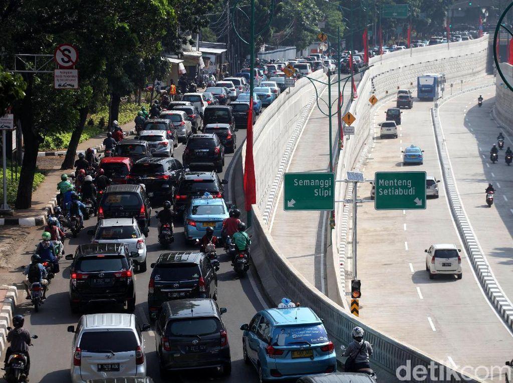 Underpass Mampang Lancar, Tendean Menuju Gatsu Padat