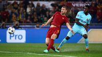 Pentingnya Gol-gol Dzeko dalam Keberhasilan Roma Singkirkan Barca