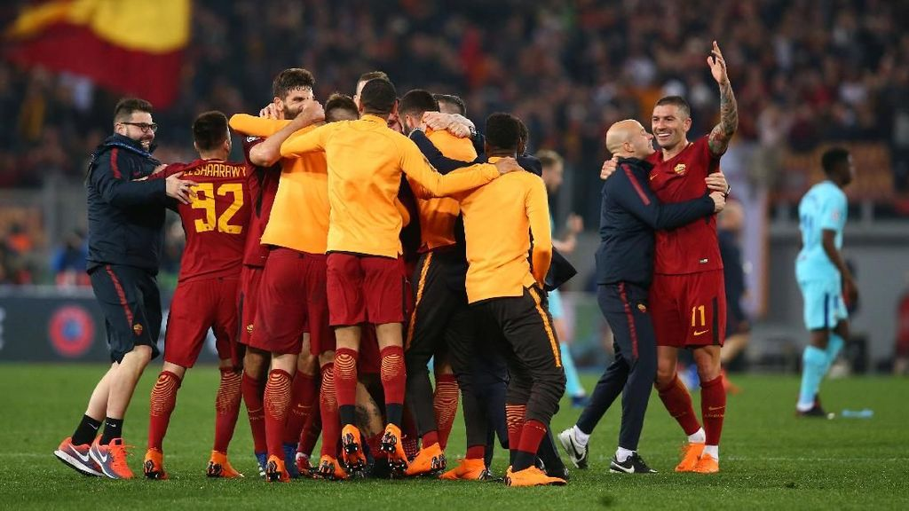 Roma Ada di Semifinal Bukan karena Kebetulan