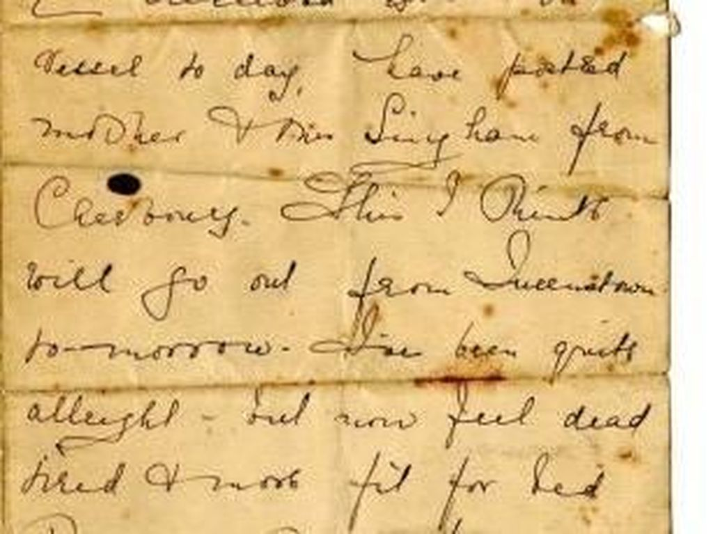 Foto: Ini Surat yang Ditulis di Atas Titanic 106 Tahun Lalu