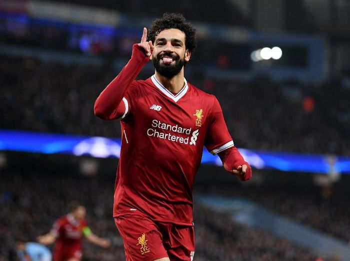 Pemain Liverpool, Mohamed Salah. (Foto: Laurence Griffiths/Getty Images)