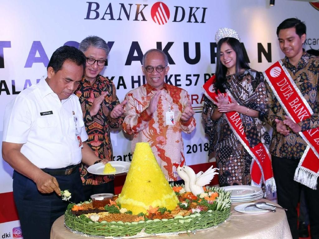 Pertumbuhan Aset Bank DKI